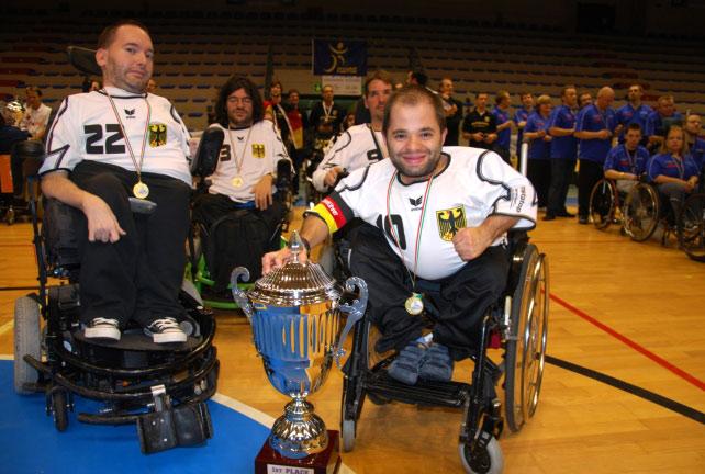 Kalkan gratuliert den E-Hockey Weltmeistern 2010