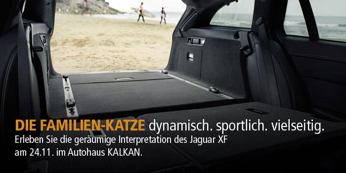 Premiere des Jaguar XF Sportbrake