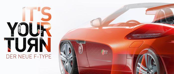 Jaguar F-TYPE - It's your turn