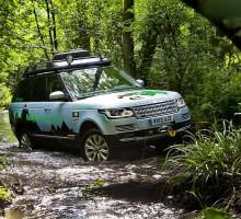 Range Rover mit Diesel Hybridantrieb