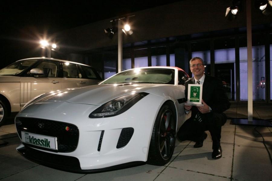 "Jaguar und Land Rover: Drei Siege beim ""Goldenen Klassik-Lenkrad"""