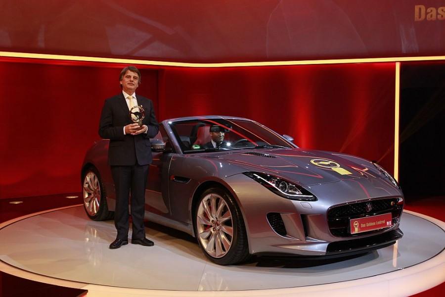Jaguar F-TYPE gewinnt das Goldene Lenkrad