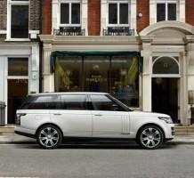 Neue Langversion des Range Rover: Luxuriös Reisen mit Raumgewinn