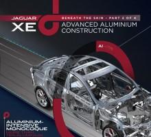 """Neuer """"aluminiumleichter"""" Jaguar XE"""