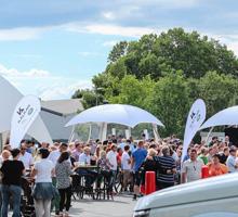 Jaguar XE Premiere am 13.06.15