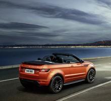 Am 4. Juni kommt das Range Rover Evoque Cabriolet