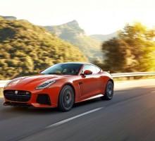 Jaguar präsentiert den F-TYPE SVR
