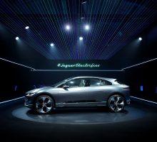 Jaguar enthüllt erstes Elektromodell, die Studie I-PACE Concept