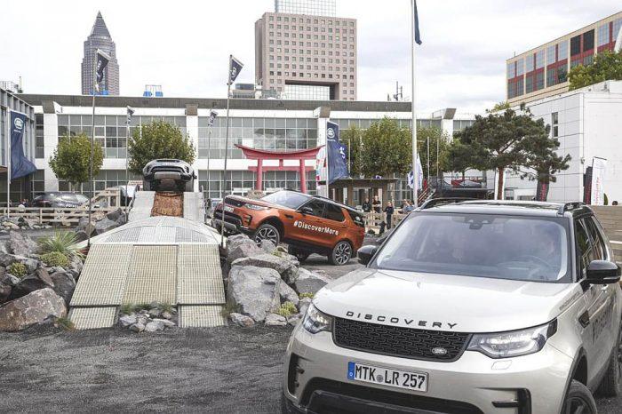 Land Rover Experience auf der IAA 2017