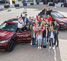 Jaguar E-PACE, F-PACE und der elektrische I-PACE bieten spannende Erlebnisse