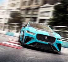 Jaguar lädt den neuen I-PACE mit einer elektrischen Rennserie auf