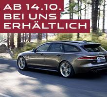 Back & powerful – Der neue Jaguar XF Sportbrake feiert am 14. Oktober 2017 Deutschlandpremiere