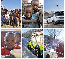 Ehrenamtliche Arbeit von Jaguar Land Rover Mitarbeitern schafft lebensrettende Landkarten