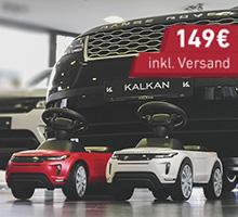 Jaguar & Land Rover Rutschautos mit LED-Licht