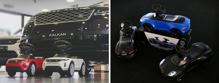 Jaguar Land Rover Rutschautos