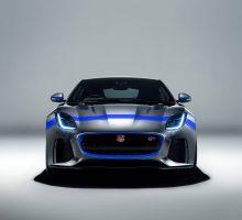 Muskelschau rund um den Jaguar F-TYPE SVR