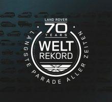 Seien Sie dabei beim Land Rover Weltrekord!