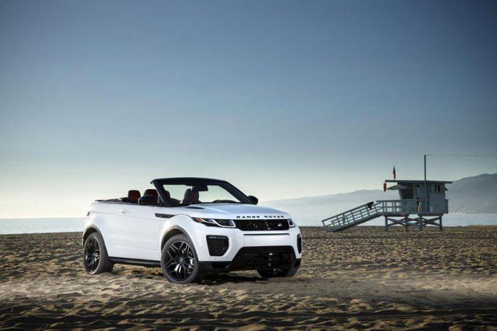 Range Rover Evoque Cabriolet ist Allradauto des Jahres