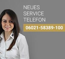 Neues Service-Telefon (-100)