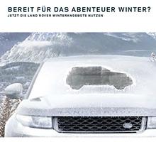 Land Rover Winterangebote 2018/2019