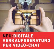 NEU: Video-Chat Verkaufsberatung
