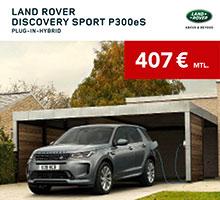 Discovery Sport Plug-In Hybrid für 407€ im Monat leasen