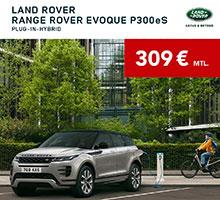 Range Rover Evoque Plug-In Hybrid für 309€ im Monat leasen