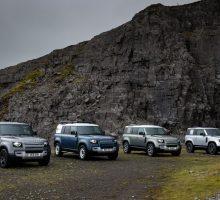 Land Rover führt für den Defender neue Karosserievarianten und neue Motoren ein
