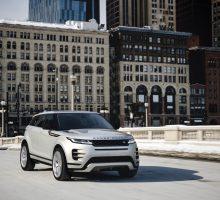Range Rover Evoque bietet im Modelljahr 2021 drei neue Motoren
