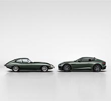 F-TYPE Heritage 60 Edition anlässlich des 60. Geburtstages des Jaguar E-type