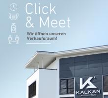 Showroom geöffnet – Click & Meet
