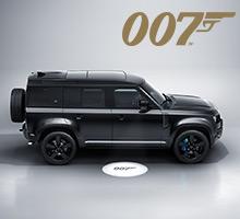 Limitierte Land Rover Defender V8 Bond Edition