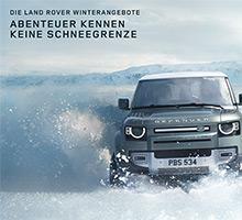 Land Rover Winterangebote 2021/22